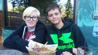 Abby and Aidan