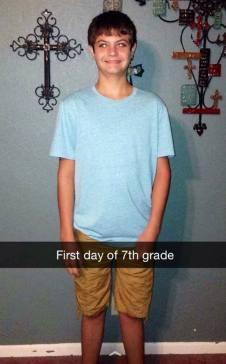 Aidan 7th grade
