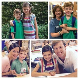Beck Kindergarten and Elle 3rd grade