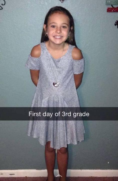 Ally 3rd grade