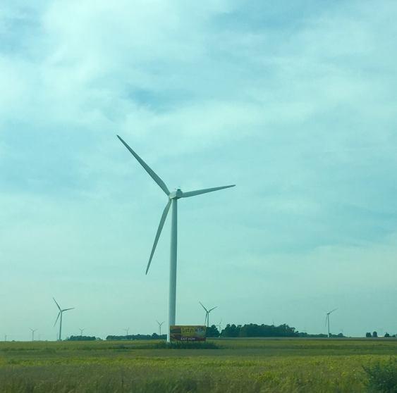 Windmills in Indiana