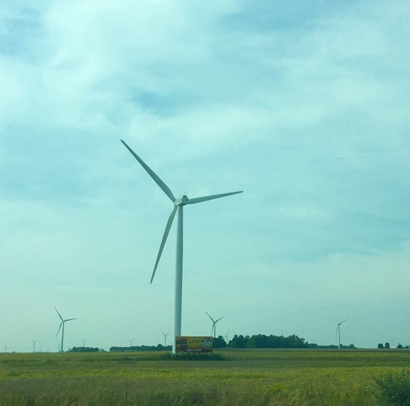 Windmills in Indiana