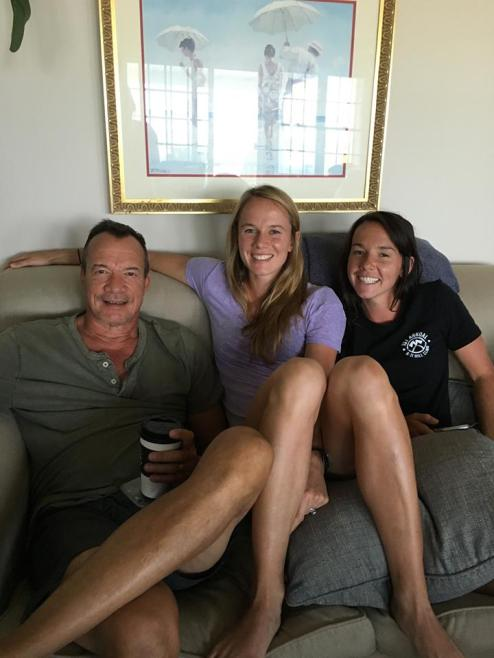 My brother Joe and his daughters Ellie and Brook