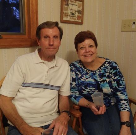My cousin Pat and husband Jack, Pratt side