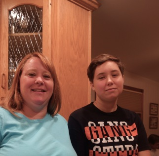 My sister in law Patty and niece Becca