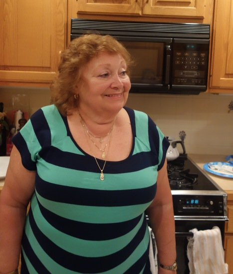 Cousin Dennis' wife Evelyn, Rice side