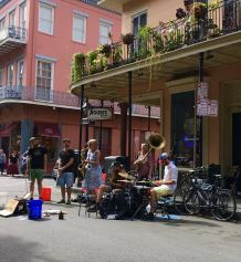 Band on the street