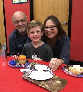 With Grandpa and Gigi