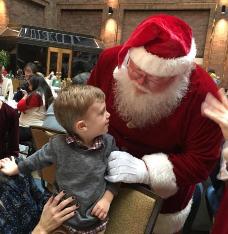 Jack with Santa