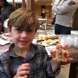 Beck's gingerbread man