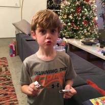 """Beck with his """"snapping gum"""""""