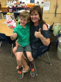 Beck and his K teacher