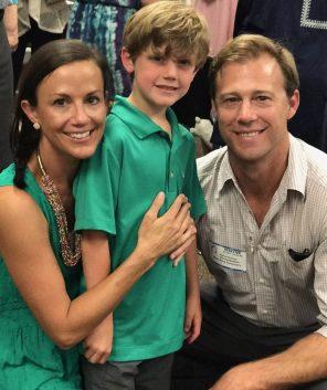 Sarah, Beck and Miles