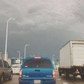 Weather and traffic