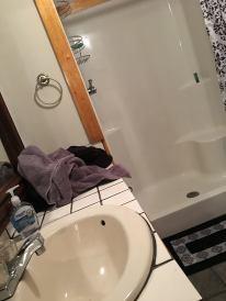 Bathroom...