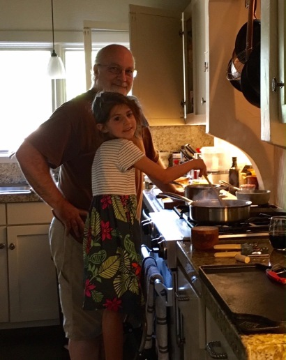 Cooking with Emery
