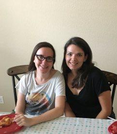 Nieces Alana and Rachel