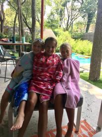 Claire, Ally, Anna