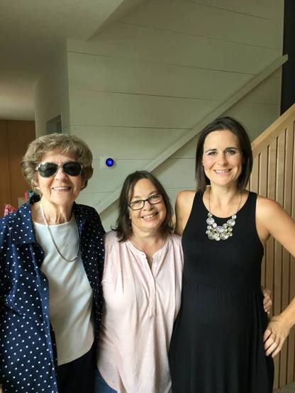 Aunt Frankye, me, Missy