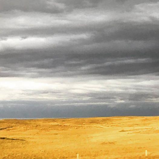 Stormy skies outside Cheyenne