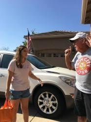 Megan and her grandpa