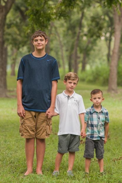 Aidan, Beck, Luke