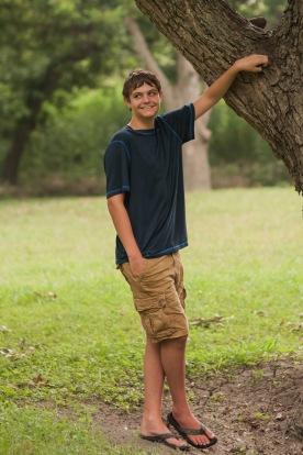 Aidan, age 14