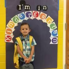 Luke in Kindergarten