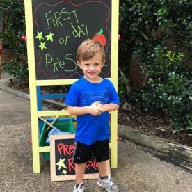 Jack at preschool