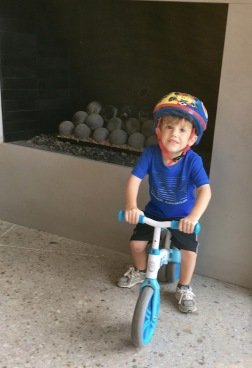 Jack and his little bike