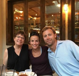 Kathi, Sarah and Miles