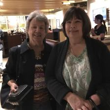 My Aunt Jeannette and cousin Betty