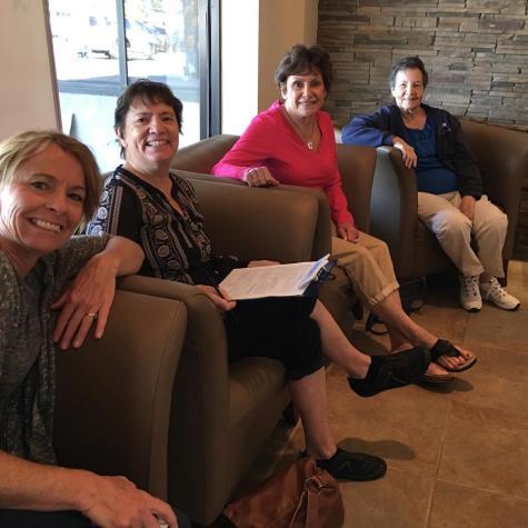 Denise, Kathi, Shirley, Mom