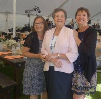 Me, Mom, Kathi, Jackson Hole wedding
