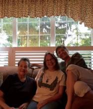 Mom, me, my sister Kathi, NJ