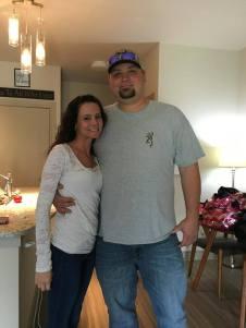 Susan and Corey