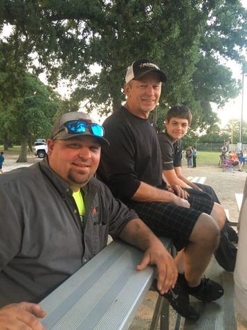 Corey, his dad and Aidan