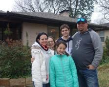 The family with Gigi