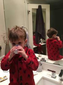 Toothbrushing time