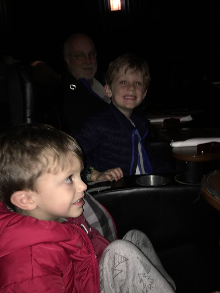 Studio Movie Grill for pizza and a movie