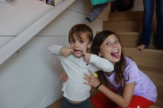 She's a great big sister to Jack!