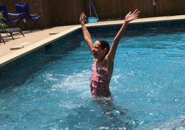 Hurray for swimming!