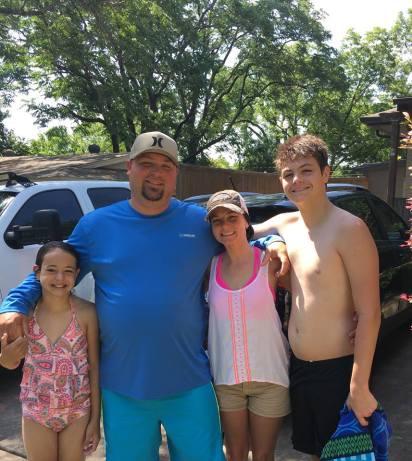 Ally, Corey, Susan, Aidan