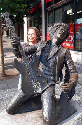 Jimi and me