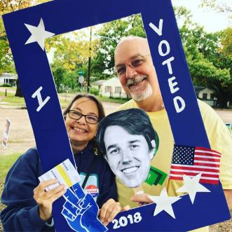 Yes, we voted for Beto