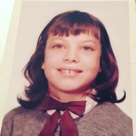 4th grade. Funny I don't remember having a gap in my teeth but I guess that's when my permanent ones were coming in.